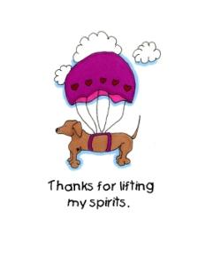 lifting spirits