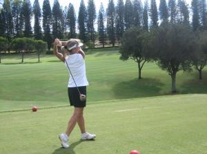 B.J. Golf Swing After