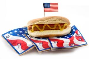 Memorial Day Hot Dog
