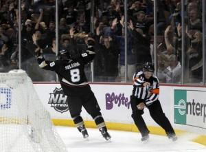 Ducks hockey game