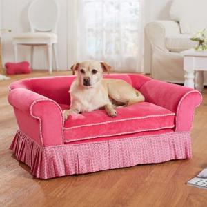 dog bed pink.2