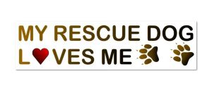 Rescue Dog Sticker.2